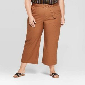 Ava and Viv Wide Leg Cropped Pants